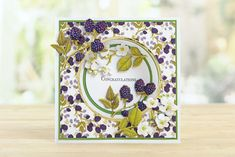 Part of the Bohemian Garden Collection by Tattered Lace Tattered Lace Cards, Create And Craft, Heartfelt Creations, Card Making Inspiration, Card Maker, Hobbies And Crafts, Cardmaking, Birthday Cards, Projects To Try