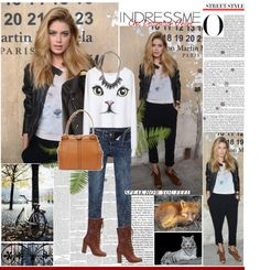 """""""Doutzen Kroes (with indressme.com)"""" by dora04 ❤ liked on Polyvore"""