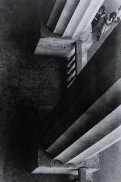 Aleksander Rodczenko (1891 - 1956) -  Columns of the Museum of the Revolution, Moscow, 1926