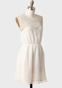 Divine Grace Swiss Dot Dress | Modern Vintage New Arrivals