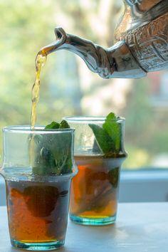 Moroccan Mint Tea Moroccan Mint Tea — My Moroccan Food Morrocan Food, Moroccan Dishes, Moroccan Recipes, Arabic Tea, Arabic Food, Arabic Dessert, Arabic Sweets, Mint Recipes, Tea Recipes