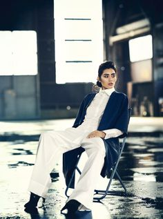 visual optimism; fashion editorials, shows, campaigns & more!: lazy day: ming xi by boo george for vogue china january 2014