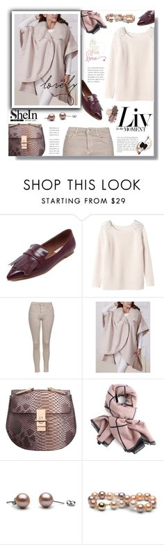 """""""Hijab"""" by sans-moderation ❤ liked on Polyvore featuring Rebecca Taylor, Topshop, hijab and shein"""
