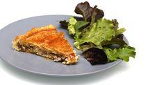 Tourte au poulet et aux champignons Spanakopita, Lasagna, Quiche, Breakfast, Ethnic Recipes, Blog, Torte, Wednesday, Cheer Snacks