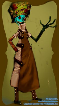 Double Fine Action Microblog — At the request of Tumblr, here is some awesome art...