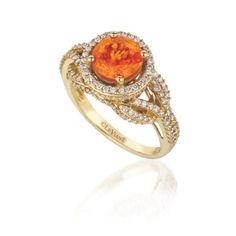 Mandarin Garnet-Le Vian Couture I love orange.