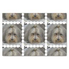 Havanese Dog Breed Tissue Paper