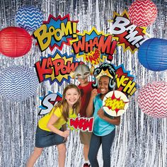 it& a photo booth! Capture super snaps at your superhero birthday party thanks to this action-packed Superhero Photo . Superhero Photo Booth, Superhero Backdrop, Diy Photo Booth, Photo Booth Backdrop, Photo Booths, Avengers Birthday, Superhero Birthday Party, Birthday Party Themes, 30th Birthday