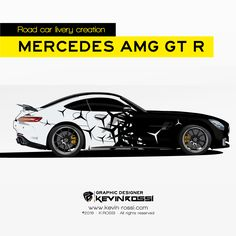 Livery creation on Mercedes AMG GT R available.