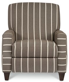 WOULD LIKE ONE NICE ARM CHAIR IN THE LIVING ROOM, A MAN TYPE CHAIR. LIKE THIS STYLE OF CHAIR - PATTERN OK, DON'T LOVE. Recliner chair - great room (Sklar Peppler)