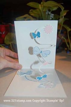 Spiral Card A Tutorial For The Card With A Surprise Inside Pop Up Cards Cards Handmade Card Craft