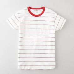 Levi's Vintage Clothing 1950's Sportswear Tee in Flame Scarlet/White. Possible that this  shirt might be too good, and that I'd wear it too much, honestly.