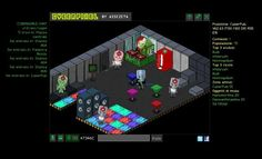 Cyberpixel, the social #browsergame by AsseZeta #madeinitaly #indiegames #videogames