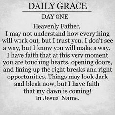Daily Grace...1
