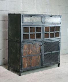 custom made modern industrial liquor wine cabinet vintage style bar cart reclaimed wood