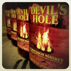 Devil's Hole that is. Bourbon Cocktails, Whiskey Bottle, Drinks, Big, Drinking, Beverages, Drink, Beverage, Cocktails