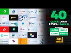 Quick Logo Reveal Pack 2 | After Effects Template | Royalty Free Video