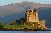 Eilean Donan Castle on Loch Duich Scotland. Haven't been there but on the list.