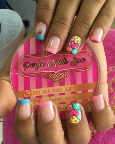 Niñas Home Trends florida home sales trends Shellac Nail Designs, Shellac Nails, Cute Nail Art, Cute Nails, Simple Nail Designs, Nail Art Designs, Boxing Day, Nail Picking, Wow Nails
