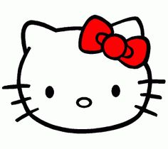 Hello Kitty Templates and Coloring Pages. Free Printables.
