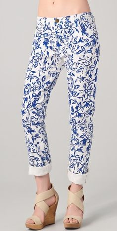 Diane von Furstenberg DVF Loves Current / Elliott Relaxed Straight Leg Jeans