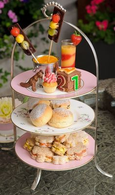 Mini-tea for children, a creation by Guoman's The Royal Horseguards