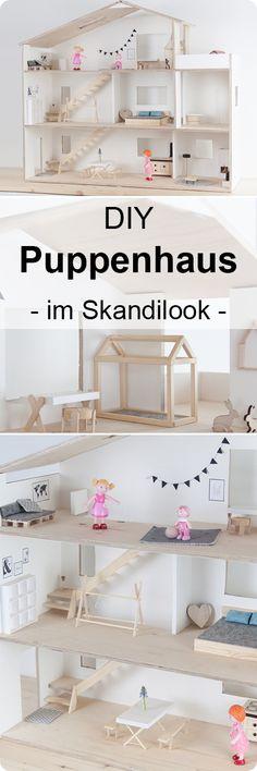 DIY Anleitung: Puppenhaus selber bauen diy furniture for