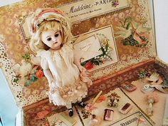 フレンチミニョネット・プレゼンテーションボックス - イギリスとフランスのアンティーク | 薔薇と天使のアンティーク | Eglantyne(エグランティーヌ)