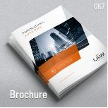 Business Brochure – A4 and Letter – 'LAW' Professional, clean and modern 20 page corporate business brochure. Just drop in your own pictures and texts, and it's ready for print. Or use it ...