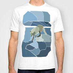 Artic Wolf T-shirt by Sarah Sabine + Diamond - $18.00