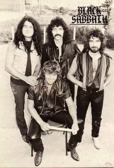 Black Sabbath.. Born Again line up...