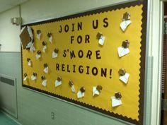 Religious Education bulletin board ideas