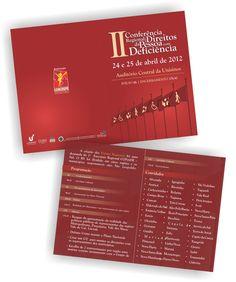 Folder 2ª Conferência da Pessoa Com Deficiência