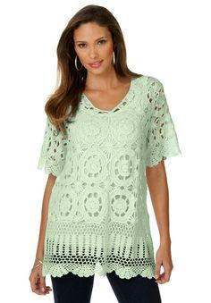 9f1cbf4999f Here is the pattern of a crochet tunic by Denim 24 7. Pattern Skill