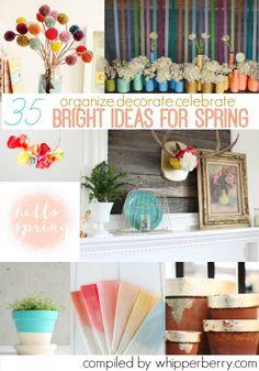 35 fun ideas for spring