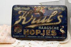 Oud blik Krul's Haagsche Hopjes