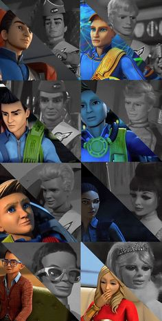 Thunderbirds 2015 vs. 1965.