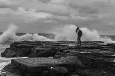 Photographer life -Pravish - Narrabeen rock pools #photooftheday #picoftheday #summer #instadaily #instalike #l4l #instagood #tbt #follow #AmateurToPro #narrabeenrockpool #model #blackandwhite #crashingwaves