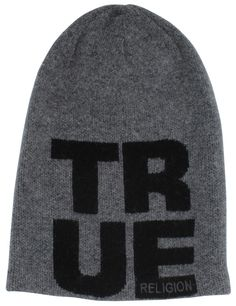 True Religion Jeans Men s Slouchy Knit Beanie Hat Cap 18258ae17