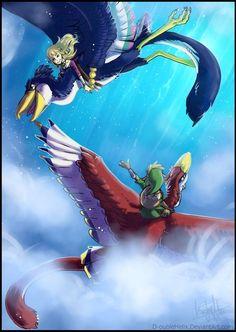Link and Zelda, Skyward Sword