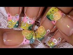 New Nail Art Ideas have been published on Wooden Bling http://blog.woodenbling.com/lemon-lime-fimo-fruit-slices-nail-art-design-tutorial/.  #nailart  #nails #fingernails #Manicure #FashionAccessories #fashion #Fashionstyle #bling #swag