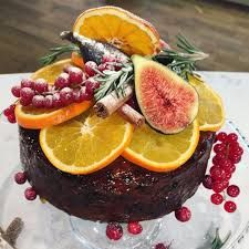 Image result for christmas cake