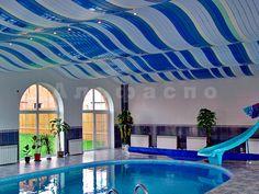 Реечные потолки в бассейне фото, потолок в бассейне фото, алюминиевый подвесной потолок бассейн фото, потоки в бассейне дизайн, алюминиевые потолки в бассейне фото
