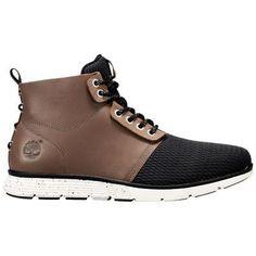 Timberland Men's Killington Chukka Shoes (Brown Full-Grain/Mesh)
