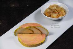 Cuisson du foie gras sous vide basse température, chutney poires vanille - Assiettes gourmandes by Chantal !