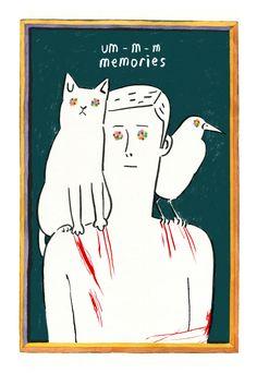 Memories by Geumja Jeon, via Behance