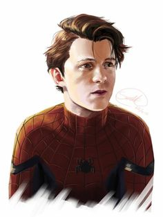 Spiderman from Captain America: Civil War, played by Tom Holland. He did a reall… - Marvel Fan Arts and Memes Tom Holland Peter Parker, Marvel Fan Art, Marvel Avengers, Parker Spiderman, Star Trek, Super Hero Shirts, Captain America Civil War, Captain America Drawing, Marvel Movies