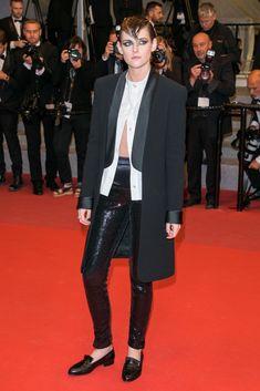 Kristen Stewart a Cannes 2018 riscrive (ancora!) le regole del dress code da red carpet, ed è pazzescaelleitalia
