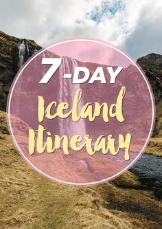 I absolutely love planning out trips, so I was super excited to create this ultimate 7-day road trip itinerary in Iceland! There's so many great locations, that it was hard to choose some over the other, but I think for the most part, we were able to experience everything we wanted on this trip to Iceland.