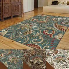 This whimsical pattern is sure to elicit compliments. A casual paisley transitional area rug in colorful shades that is an adorable alternative to traditional.